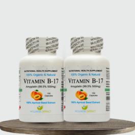 Vitamin B17 Amygdalin 500 mg (Pack of 2)