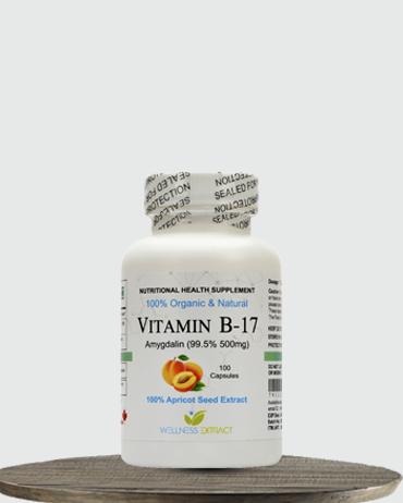 Vitamin B17 Amygdalin 500 mg (Pack of 1)